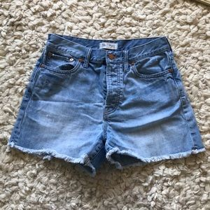 Madewell The Perfect Summer denim short